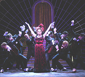 Tovah Feldshuh and company in Hello, Dolly!