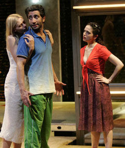 Jicky Schnee, Piter Marek and Roxanna Hope