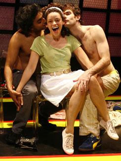 Manu Narayan, Marcy Harriell  and Brian Henderson