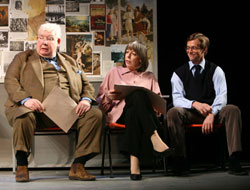 Richard Griffiths, Frances de la Tour,and Stephen Campbell Moore