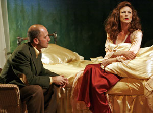 Timothy Deenihan and Leslie Hendrix in Susan and God