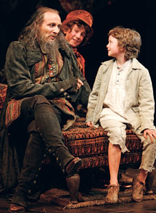 Colm Feore, Scott Beaudin, and Tyler Pearse