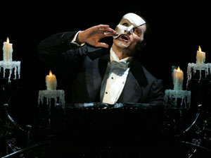 Brent Barrett in Phantom -- The Las Vegas Spectacular