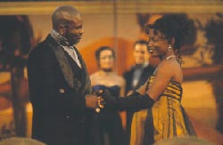 Keith David as Leontes and Aunjanue Ellisas Hermione in The Winter's TalePhoto: Michal Daniel