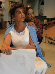 Mercedes Ruehl and Liza Colón-Zayas 