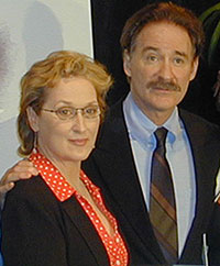 Meryl Streep and Kevin Kline(Photo © Michael Portantiere)
