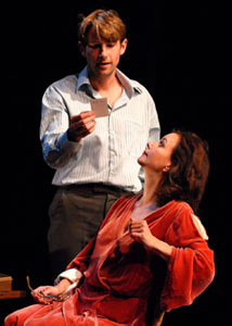 Derek Cecil and Margaret Colin in Sweet Bird of Youth  (Photo © Allison Leger)
