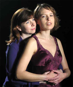 Karen Woodward Massey and Alisha Jansky