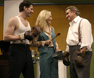 Jim Iorio, Elizabeth Rossa, and Dan Lauria