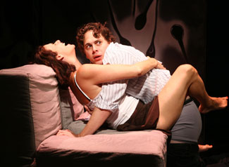 Amy Landecker and Thomas Sadoski in All This Intimacy(© Joan Marcus)