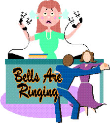 Publicity art for Bells Are Ringing