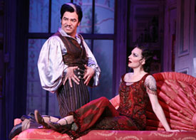 Danny Burstein and Beth Leavel in The Drowsy Chaperone