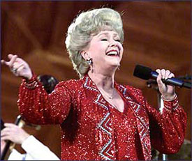 Debbie Reynolds in concert