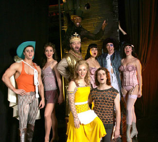 The cast of Pippin