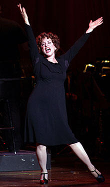 Patti LuPone in Gypsy(© Jim Steere/Ravinia Festival)