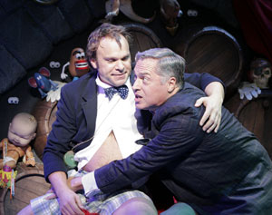 Norbert Leo Butz and Tom Hewitt