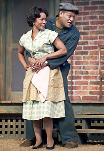 Delighful Fences By August Wilson Rose Bassett And Laurence Fishburne In Craig Schwartz M Intended Design