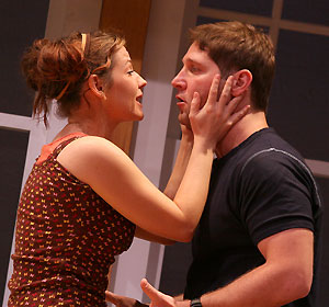 Jessica-Snow Wilson and Rick Gifford in WASPs in Bed