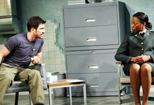 Dylan McDermott and Portia in The Treatment