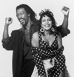Nickolas Ashford and Valerie Simpson