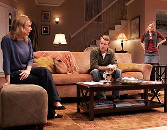 Amy Ryan, Tate Donovan, and Missy Yager in Rabbit Hole