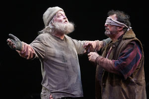 Stacy Keach and Edward Gero in King Lear