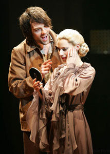 Matt Rawle and Elena Roger in Evita