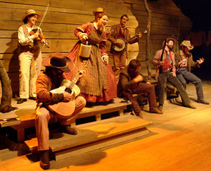 A scene from Hatfield and McCoy