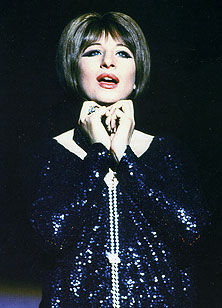 Barbra Streisand in Funny Girl(Photo from Broadway Musicals:The 101Greatest Shows of All Time,Black Dog & Leventhal Publishers)