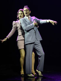 Ana Gasteyer and Jim Dalein The Threepenny Opera