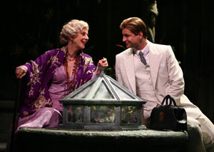 Blythe Danner and Gale Harold in Suddenly Last Summer