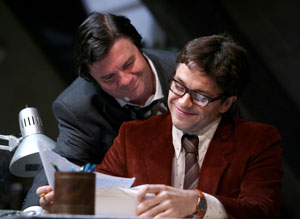 Nathan Lane and Julian Ovenden in Butley