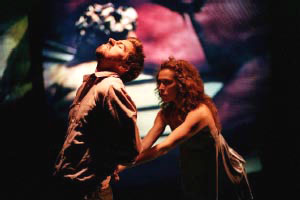 Jeff Barry and Alexis McGuinness in Abandon (© Peter Bellamy)