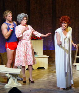 Michael Hunsaker, Jay Rogers, and Nancy Opel
