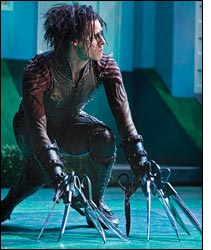 Sam Archer in Edward Scissorhands