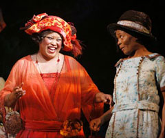 Felicia P. Fields and LaChanzein The Color Purple