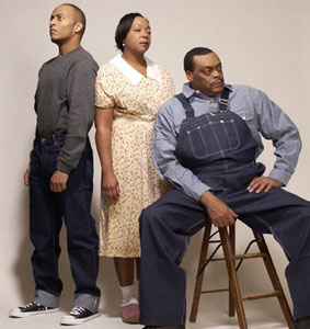 Anthony Fleming, III, Jacqueline Williams, and A.C. Smith in Fences