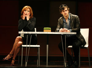 Julie White and Tom Everett Scott