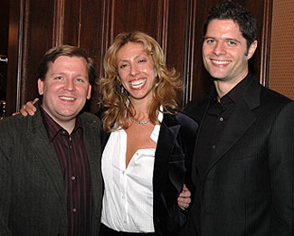 David Lindsay-Abaire, Amanda Green, and Tom Kitt(© Greg Bolosky)