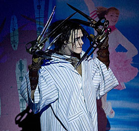 Sam Archer in Edward Scissorhands(&copy; Bill Cooper)