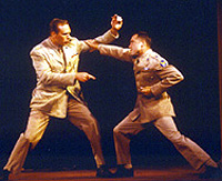 J. Richey Nash and David Paluck in theHamptons Shakespeare Festival'sMuch Ado About Nothing.