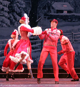 A scene from White Christmas