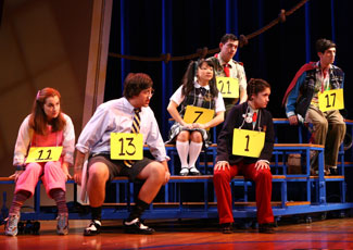 A scene from The 25th Annual Putnam County Spelling Bee