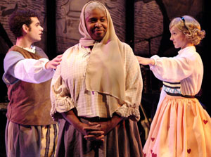 Andrew Keltz, Cheryl Lynn Bruce, and Mattie Hawkinson
