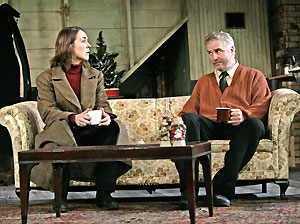 Rachael Warren and William Petersen in Dublin Carol