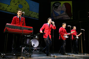 Erich Bergen, Christopher Kale Jones, Deven May,