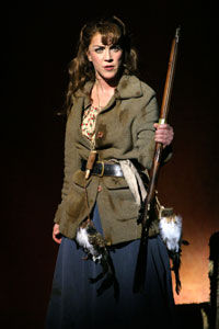 Andrea McArdle in Annie Get Your Gun