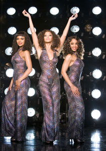 Sharon Leal, Beyoncé Knowles,and Anika Noni Rose