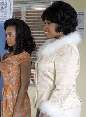 Anika Noni Rose and Jennifer Hudson