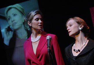 Susan Riley Stevens and Jennifer Childsin This Is The Week That Is(© JJ Tiziou)